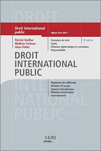 Droit international public (French Edition)