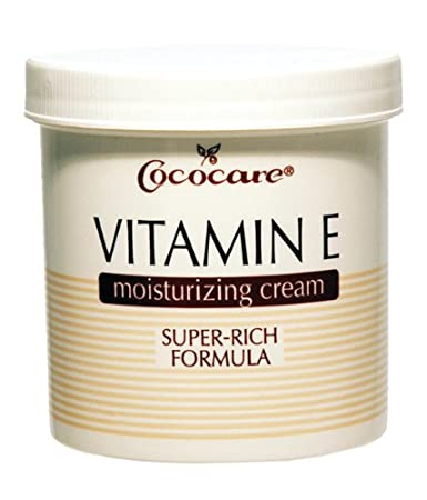 Cococare Vitamin E Moist Cream 4 oz. (Pack of 2) Revitalin Day Cream - For Dry/ Sensitive Skin Types 1oz
