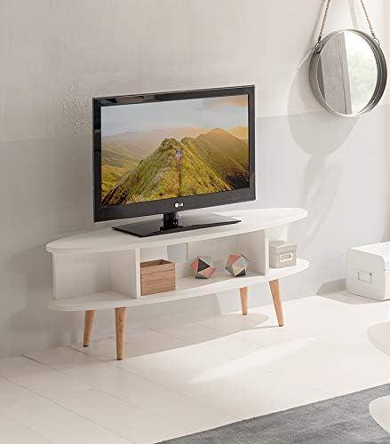 Hogar24-Mesa televisión, Mueble TV salón diseño Vintage con ...