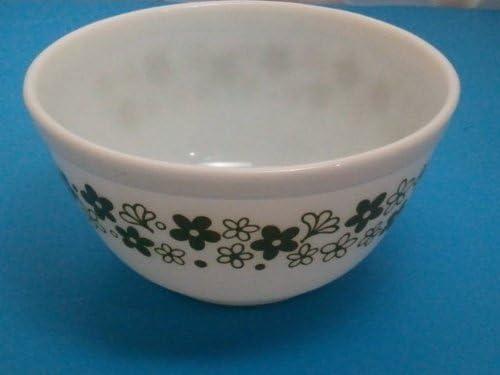 #402 1.5 l Pyrex Spring Blossom Green Mixing Bowl