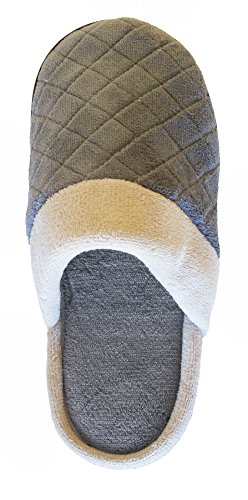 Isotoner Mujeres Microterry Maddie Clog Slipper Ash