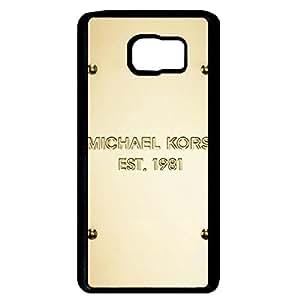 MK Design Phone Case for Samsung Galaxy Note 5 Michael Kors Black Hard Cover JM