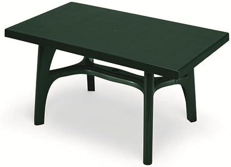 Mesa rectangular para exterior, Mesa Resina 140 x 80, mesa para ...