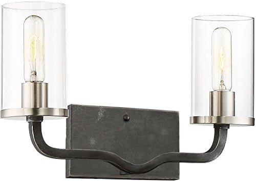- Nuvo 60/6122 Two Light Vanity Tone