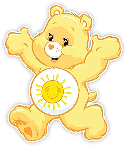 Funshine Care Bear Iron On Transfer for