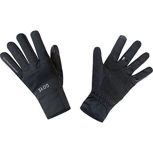 (GORE WEAR Windproof Gloves, M Windstopper Thermo Gloves, Size: L, Color: Black, 100310)