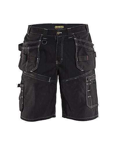 - Blaklader Craftsmen X1600 Shorts Black Craftsmen 30