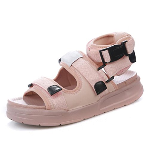 Mujer Running Sneaker Aire Pool Estilo Flip Verano Senderismo Deportes Al Sandalias Casual Flop Twgdh Libre Zapatos Pink Traveling Plataforma 8XwqZ1Tf