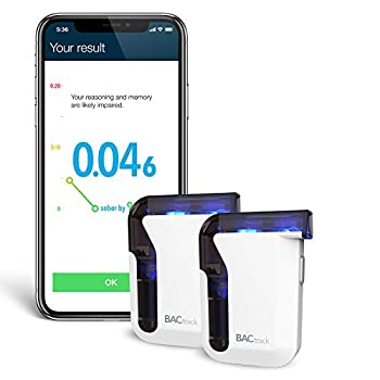 Image of BACtrack Mobile Smartphone Breathalyzer (2 Pack) | Professional-Grade Accuracy | Bluetooth Connectivity to Apple iPhone, Google & Samsung Android Devices | Apple Health Kit Integration