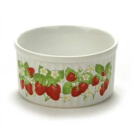 Ramekin by Action Stoneware Strawberries