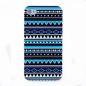 LZX Vawes Ripple Dull Polish Embossment Back Case for iPhone 4/4S