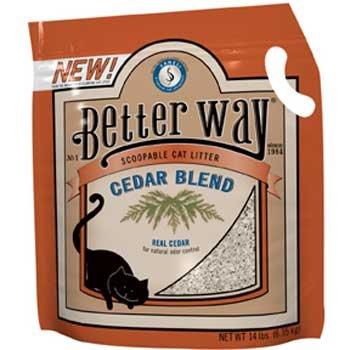 Better Way Cedar Cat Litter – 14 lb, My Pet Supplies
