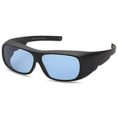 Apollo Horticulture Indoor Hydroponics Grow Room Light Prescription Wear Over Glasses Cover Over Goggles for Anti UV, Reflection, Glare Optical Protection