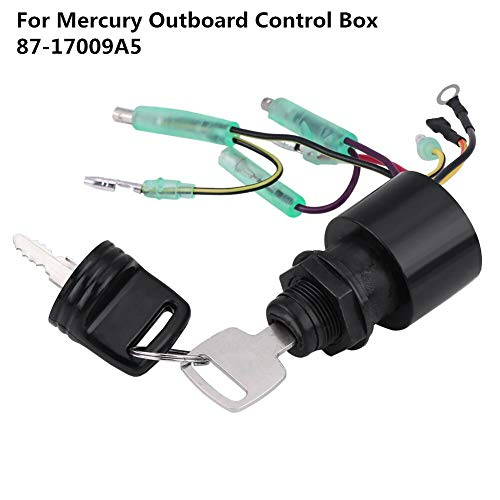 Boat Ignition Key Switch Assy for Mercury Outboard Remote Control Box  87-17009A5