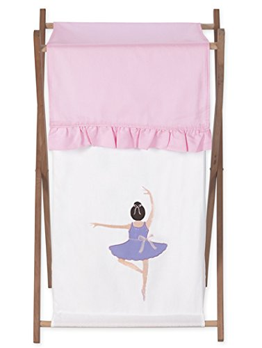 Sweet Jojo Designs Baby and Kids Clothes Laundry Hamper for for Ballet Dancer Ballerina Bedding by Sweet Jojo Designs