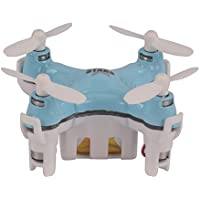YouCute TINY! Cx Stars Worlds Smallest Drone Nano Drone RC Quadcopter mini quadcopter drone 2.4G 6 Axis Gyro (Blue)