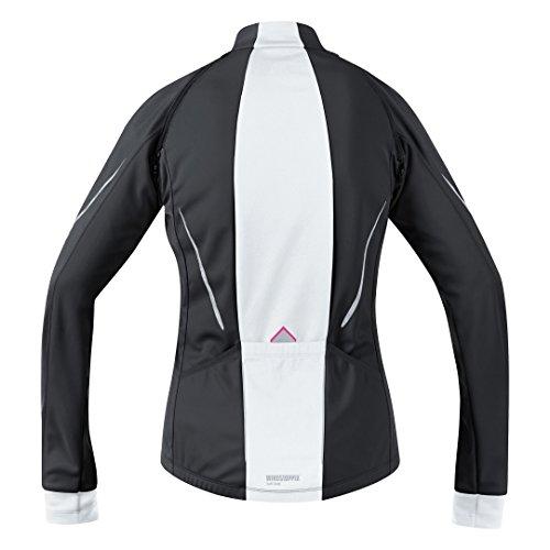 Calda Su Giacca Strada Bike Ciclismo 3 In Versatile Wear Gore bianco 1 Donna E Nero w7UxIA4qS
