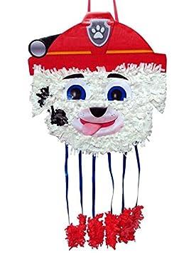 DISBACANAL Piñata Marshall Patrulla Canina Mediana: Amazon.es: Juguetes y juegos