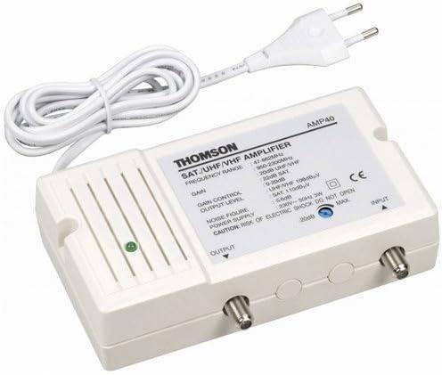 THOMSON - Amplificador de satélite y Antena (47-2300 MHz ...