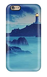 DbYmg4163Qbcjn Case Cover Lighthouse At Night Iphone 6 Protective Case