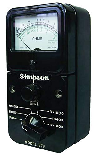 (Simpson 372-3/12311 Megohmmeters/IR Testers)