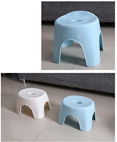Color : Blue Weight Small Size Convenient To Store SMX Japanese Bath Stool