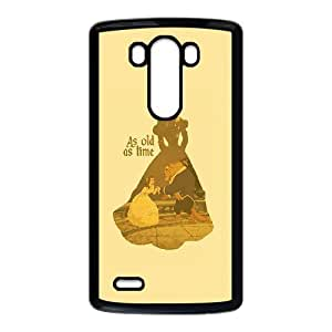 LG G3 Phone Case Cover Beauty and the Beast ( by one free one ) B65623