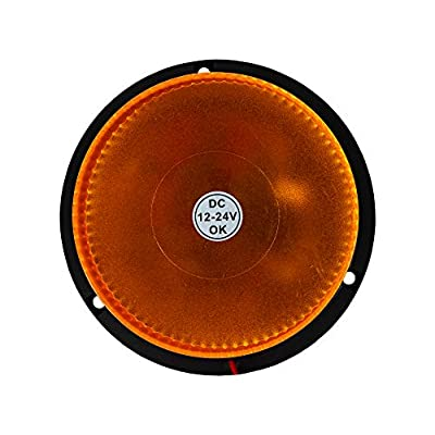 Buyers Products (SL-660A) Flashing Amber Beacon- Permanent Mount: Automotive