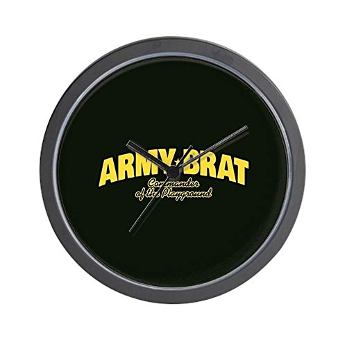 YiiHaanBuy Army Brat - Unique Decorative 10in Wall Clock.