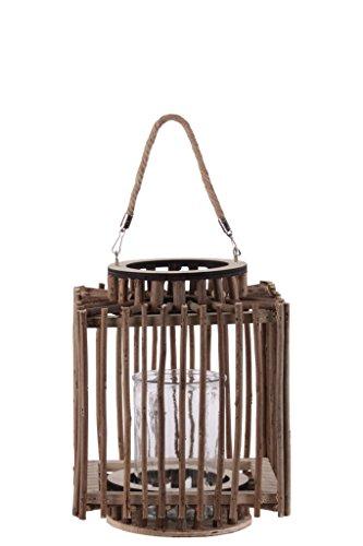 (Urban Trends Twig Design Lantern, Brown)