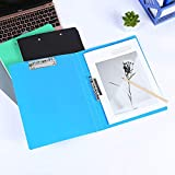 Double Strong Clips File Folder, Punchless