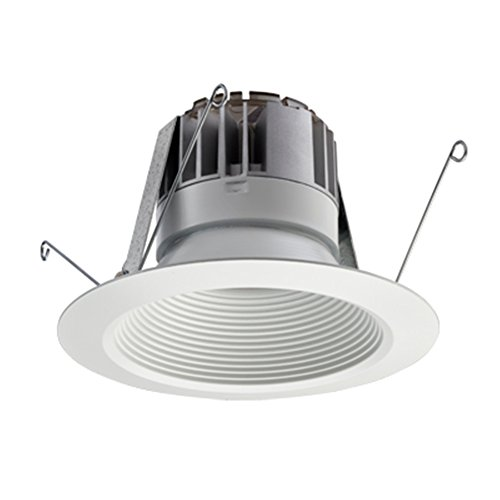 - Lithonia Lighting 5BPMW LED M6 5 inch White LED Recessed Baffle Module, 3000K