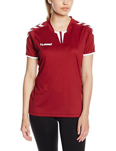 - Hummel Sport Hummel Women's Core Short Sleeve Soccer Jersey, Maroon, Small
