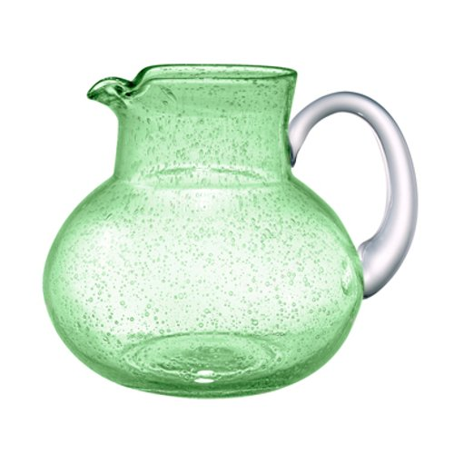 green glass water pitcher - 1