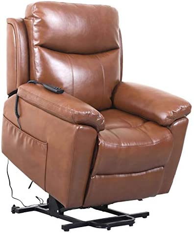 Reviewed: JinMueble Lift Chairs Dual OKIN Motor Lays Flat Electric Power Lift Recliner Chair