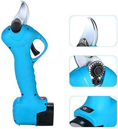 HAOT Wiederaufladbare elektrische Schnittschere Schnurloser Astschneider, 25 mm (1 Zoll) Schneiddurchmesser-Schere Garden Secateur Cutter Tool