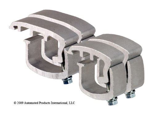 API AC108COMBOP4 Clamps for Mounting Truck Caps on Ford F Series Super Duty (Set of 4) by API