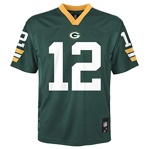 Aaron Rodgers Green Bay Packers Youth NFL Mid Tier Replica - Rodgers Jersey
