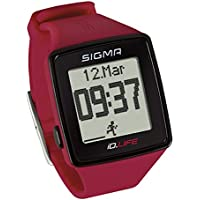 Sigma Sport ID. Vida Heart Rate Monitor & Activity Tracker, Color Rojo