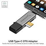 Sabrent USB 3.0 and USB Type-C OTG Card Reader