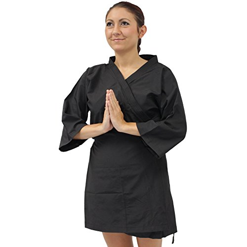 Classical Japanese Geisha Kimono Traditional Kyoto Entertainers Robe Black
