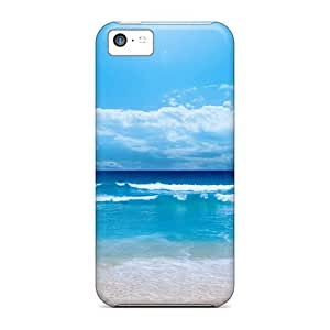 Durable Defender Case For Iphone 5c Tpu Cover(the Ocean)