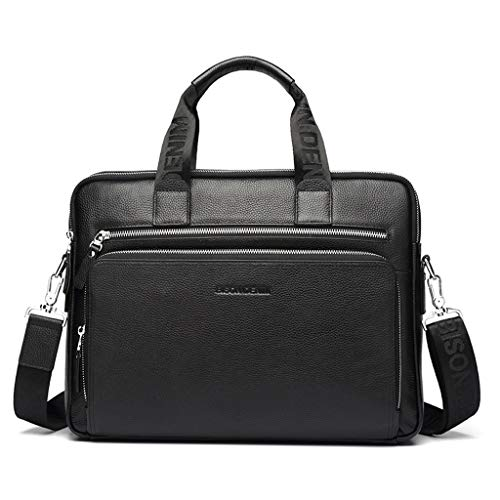 NYDZDM Leather Men Handbag 14