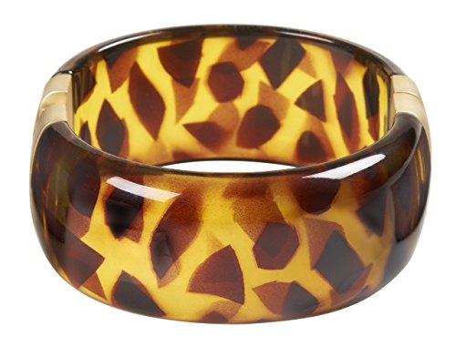 Bracelet Tortoiseshell Hinged Bracelet Kenneth Jay Lane Costume Fashion Jewelry Tortoise Shell (Tortoise Costumes)