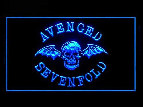 Avenged Sevenfold (Pattern) Bar Hub Advertising LED Light Sign J649B