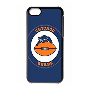 Chicago Bear iPhone 5c Cell Phone Case Black Phone cover G2697737