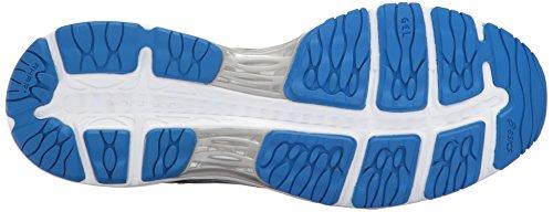 ASICS Mens Gel-Cumulus 19 Running Shoe Grey/Black/Directoire Blue Lwthpor