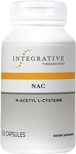 Integrative Therapeutics – NAC (N-Acetyl L-Cysteine) – Vital Cellular Antioxidant Supplement – 60 Capsules