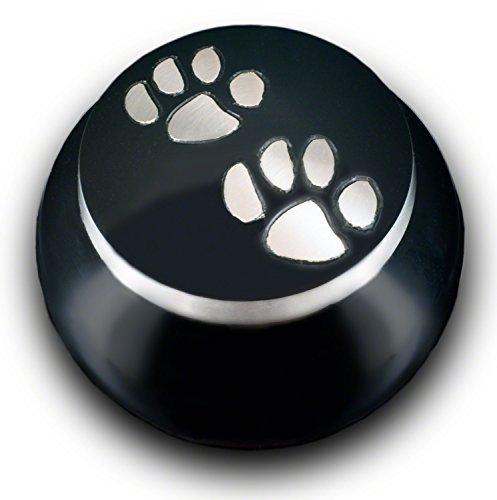 Best Friend Services Mia Series Pet Cremation Urn (Medium, Ebony)