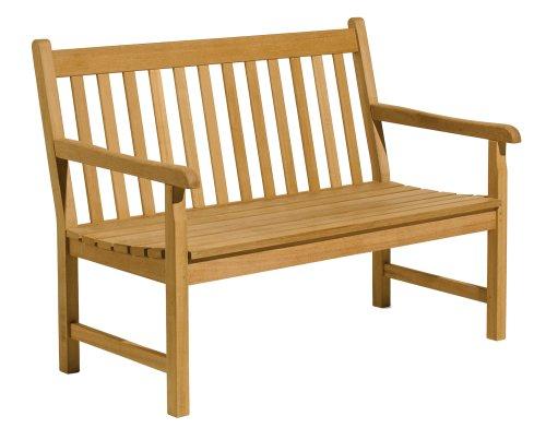 Oxford Garden - Classic Collection 4-Foot Shorea Bench | 100% Tropical Shorea Hardwood Outdoor Furniture